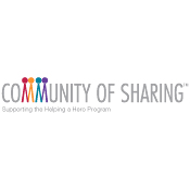 Community of Sharing™ Program Supporting HelpingaHero.org logo